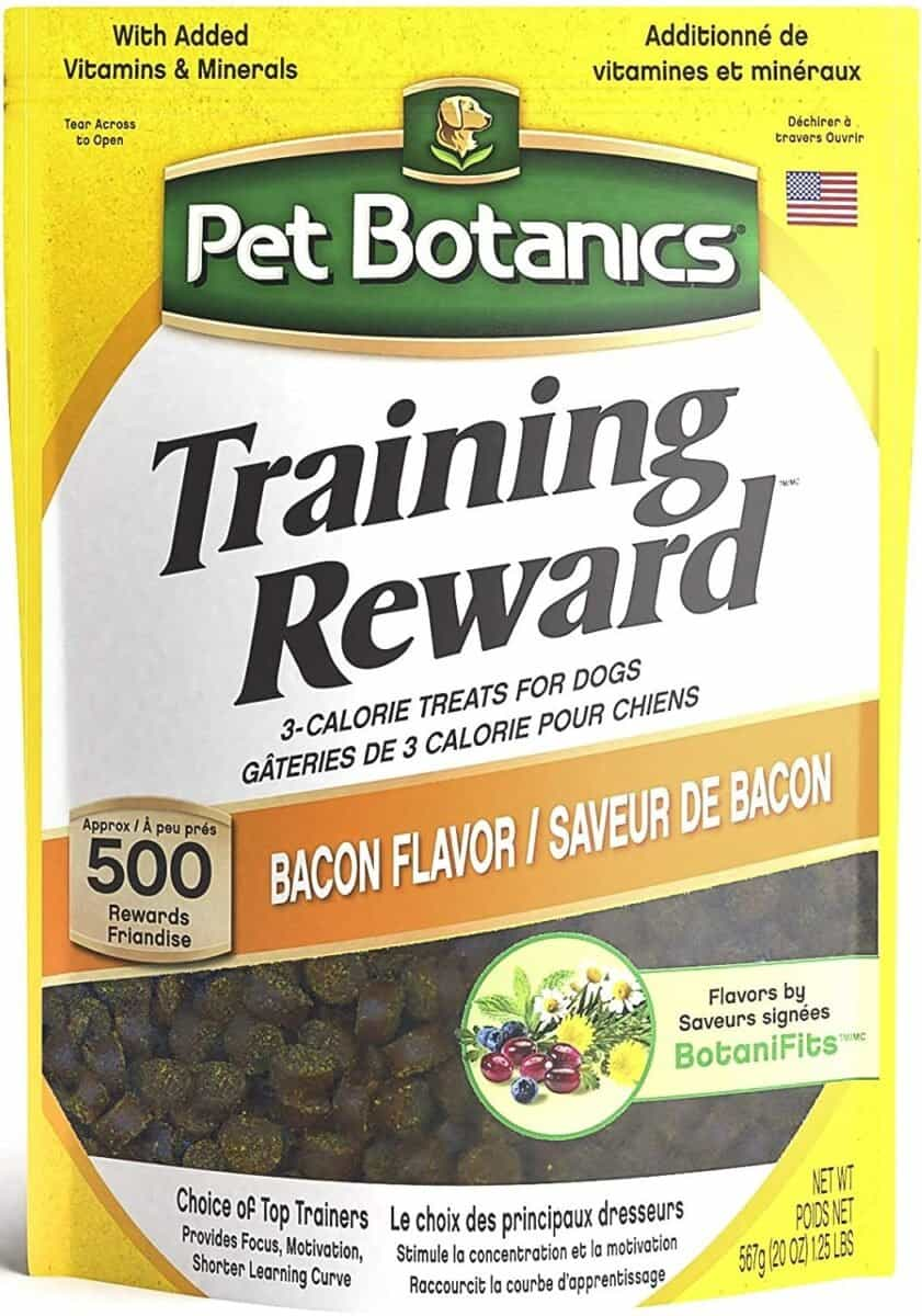 Best for Training Pet Botanics Training Rewards Bacon Flavor Dog Treats