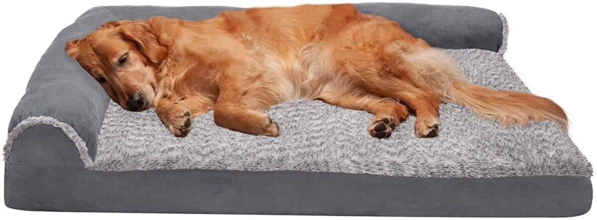 Furhaven Pet Dog Bed Best for Large Dogs
