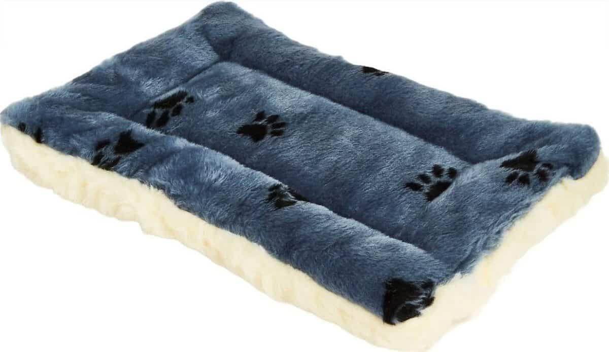 MidWest Quiet Time Fleece Reversible Dog Crate Mat Best Budget